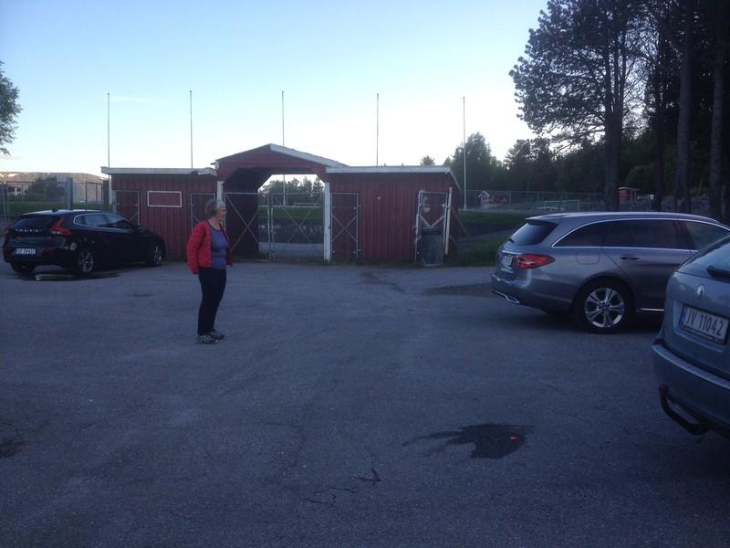 Aksla stadion parkering (146 m) • Peakbook